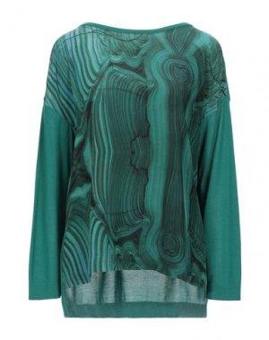 Свитер AKRIS. Цвет: изумрудно-зеленый