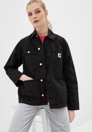 Куртка джинсовая Carhartt WIP. Цвет: черный