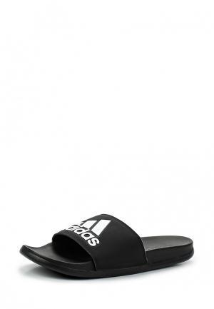 Сланцы adidas adilette CF+ logo. Цвет: черный
