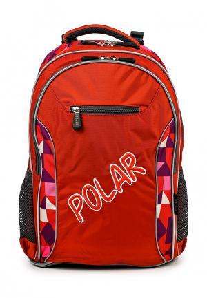 Рюкзак Polar. Цвет: оранжевый