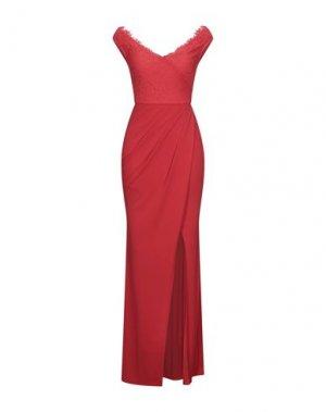 Длинное платье LIPSY. Цвет: красный