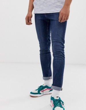 Синие джинсы скинни Cheap Monday