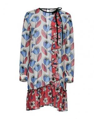 Короткое платье LAB ANNA RACHELE. Цвет: красный