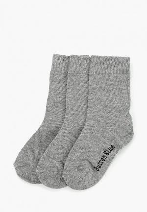 Носки Button Blue. Цвет: серый
