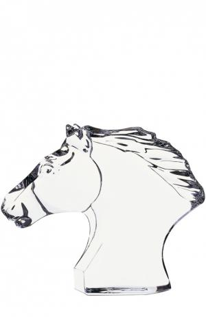 Скульптура Tete de Cheval Baccarat. Цвет: прозрачный
