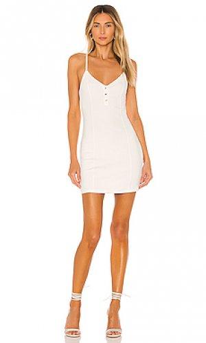 Платье lainey Privacy Please. Цвет: белый