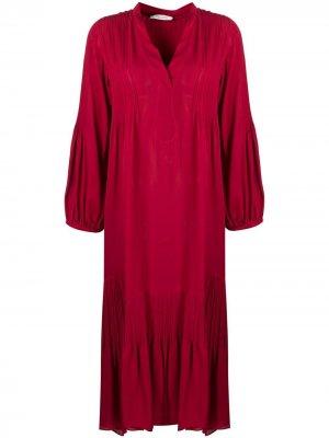 Расклешенное платье-туника Dorothee Schumacher. Цвет: красный