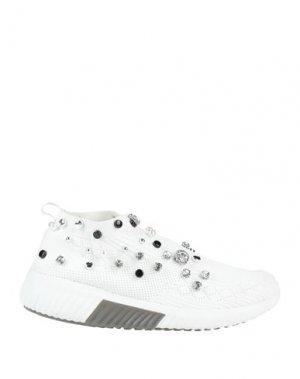 Низкие кеды и кроссовки ALBANO. Цвет: белый
