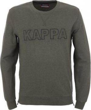 Джемпер мужской , размер 50 Kappa. Цвет: зеленый