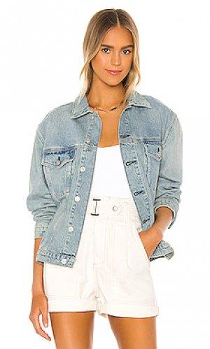 Джинсовая куртка Hudson Jeans. Цвет: none