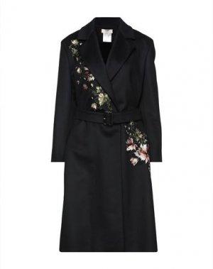 Пальто FUZZI. Цвет: черный