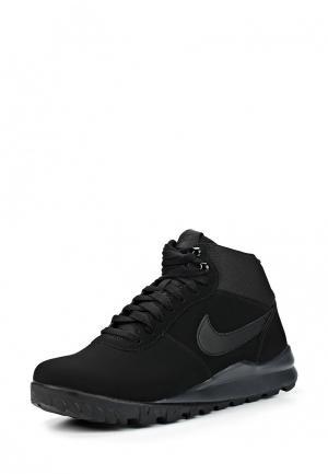 Ботинки Nike MENS HOODLAND SUEDE SHOE. Цвет: черный