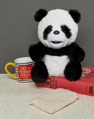 Грелка-игрушка в виде панды с возможностью нагрева микроволновой печ Cosy Cuddlies. Цвет: мульти