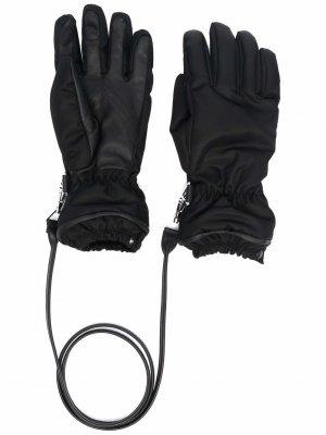 Кашемировые перчатки Bottega Veneta. Цвет: черный