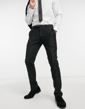 Черные брюки под смокинг -Черный цвет Twisted Tailor