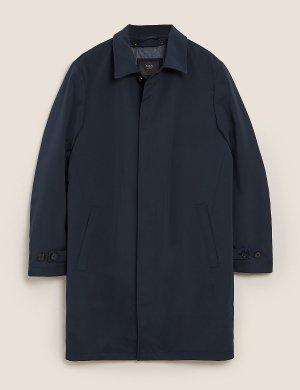 Мужской макинтош с технологией Stormwear ™ M&S Collection. Цвет: темно-синий