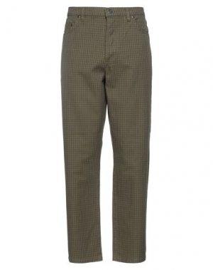 Повседневные брюки STUSSY. Цвет: зеленый-милитари