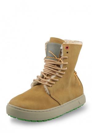 Ботинки Satorisan. Цвет: коричневый