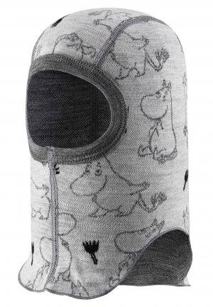 Шапка-шлем, базовый слой Moomin Rolig Белая Reima. Цвет: белый
