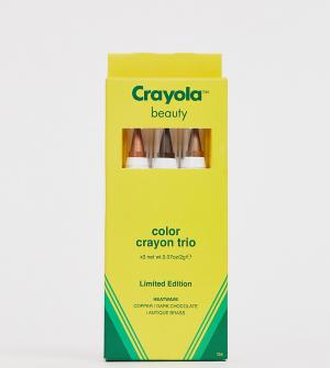 Набор из трех карандашей для макияжа Heat Wave Crayola