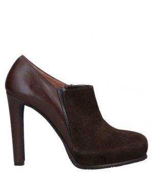 Ботинки TIFFI. Цвет: темно-коричневый