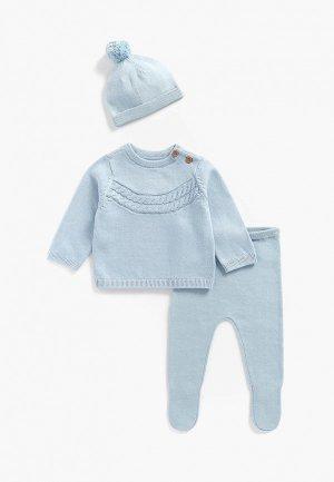 Комплект Mothercare. Цвет: голубой