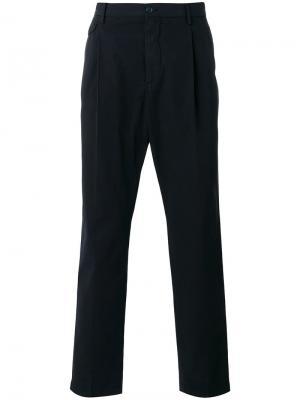 Классические брюки чинос Dolce & Gabbana. Цвет: синий