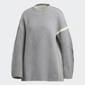 Джемпер Y-3 Oversize by adidas. Цвет: серый
