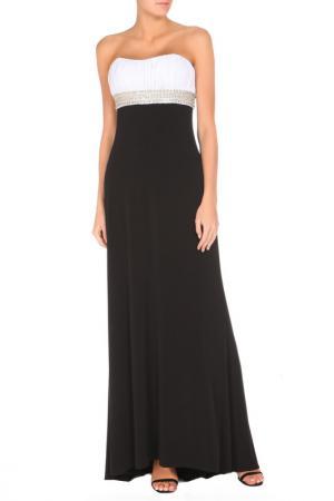 Платье JS Collections. Цвет: черный, белый