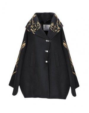 Пальто ROMEO GIGLI x EGGS. Цвет: черный