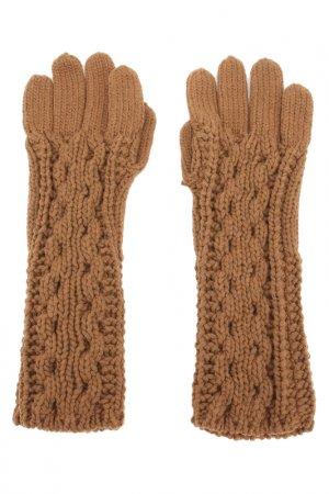 Перчатки Salvatore Ferragamo. Цвет: camel