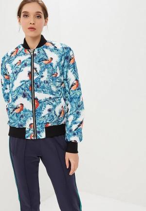 Куртка утепленная FWD lab. Цвет: голубой