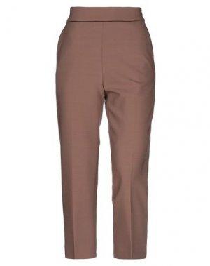 Повседневные брюки VIA MASINI 80. Цвет: верблюжий