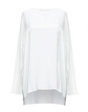 Блузка 8PM. Цвет: белый