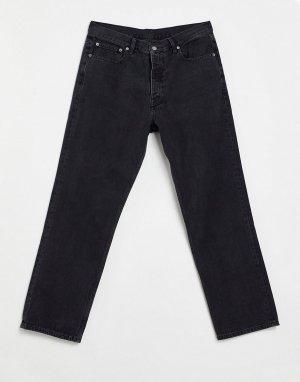 Прямые джинсы черного выбеленного цвета Dash-Черный цвет Dr Denim