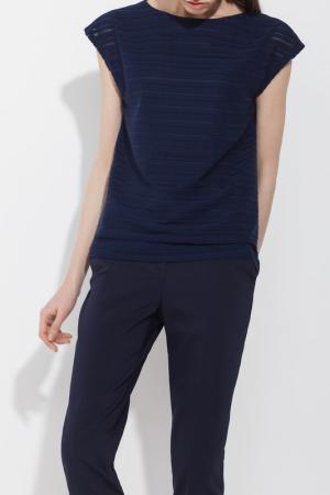 Блуза Charuel. Цвет: темно-синий