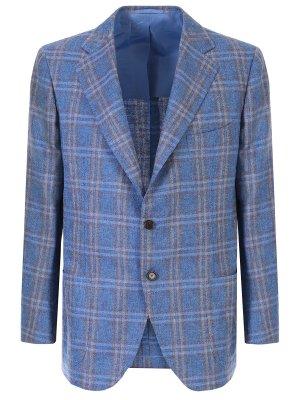 Пиджак из шелка и кашемира ATTOLINI