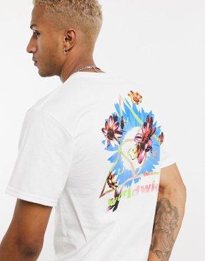 Белая футболка -Белый HUF