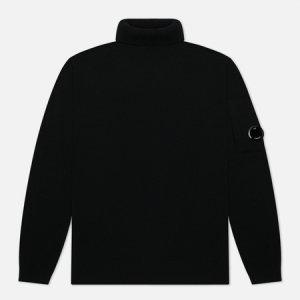 Мужской свитер Merino Wool Roll Neck Knit C.P. Company. Цвет: чёрный