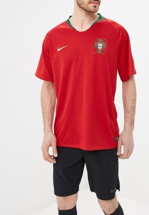 Футболка спортивная Nike Breathe Portugal Home Stadium Mens Short-Sleeve Jersey. Цвет: красный