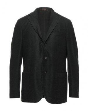Пиджак THE GIGI. Цвет: темно-зеленый