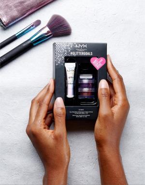 Блестки NYX Professional Make Up эксклюзивно для ASOS Makeup. Цвет: мульти