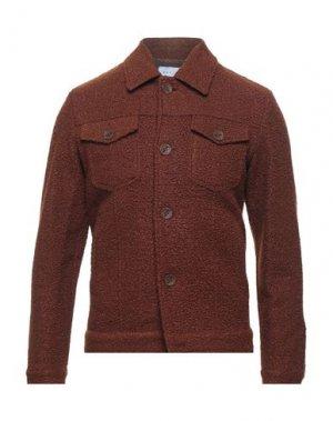 Куртка OUT/FIT. Цвет: коричневый