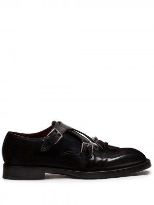 Туфли монки Dolce & Gabbana. Цвет: черный