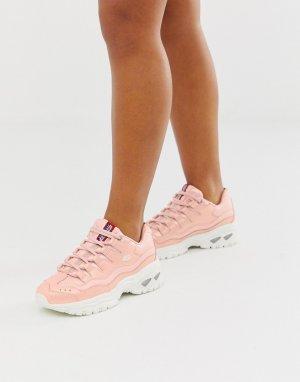 Розовые кроссовки Energy-Розовый Skechers