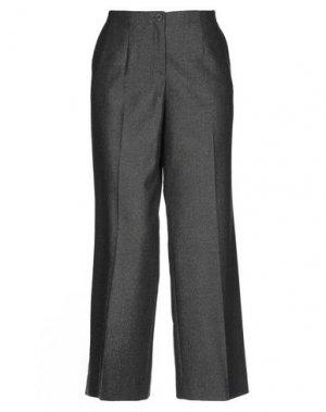 Повседневные брюки VIA MASINI 80. Цвет: стальной серый