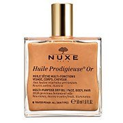 Золотое масло для лица, тела и волос Huile Prodigieuse Golden Shimmer Multi Usage Dry Oil 50 мл NUXE