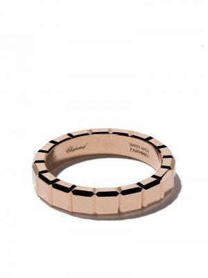Кольцо Ice Cube из розового золота Chopard. Цвет: розовый