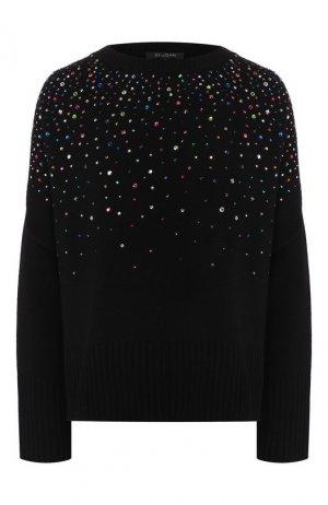 Кашемировый свитер St. John. Цвет: черный