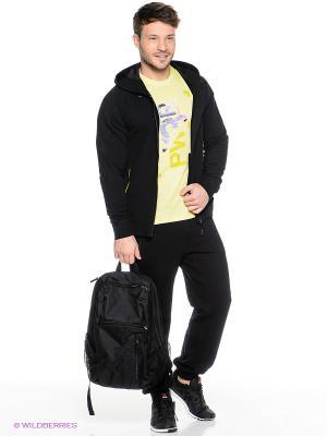 Спортивный костюм Reebok. Цвет: черный